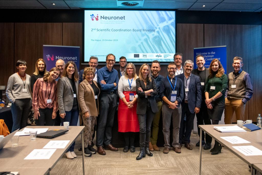 Neuronet Scientific Coordination Board meeting The Hague Alzheimer Europe