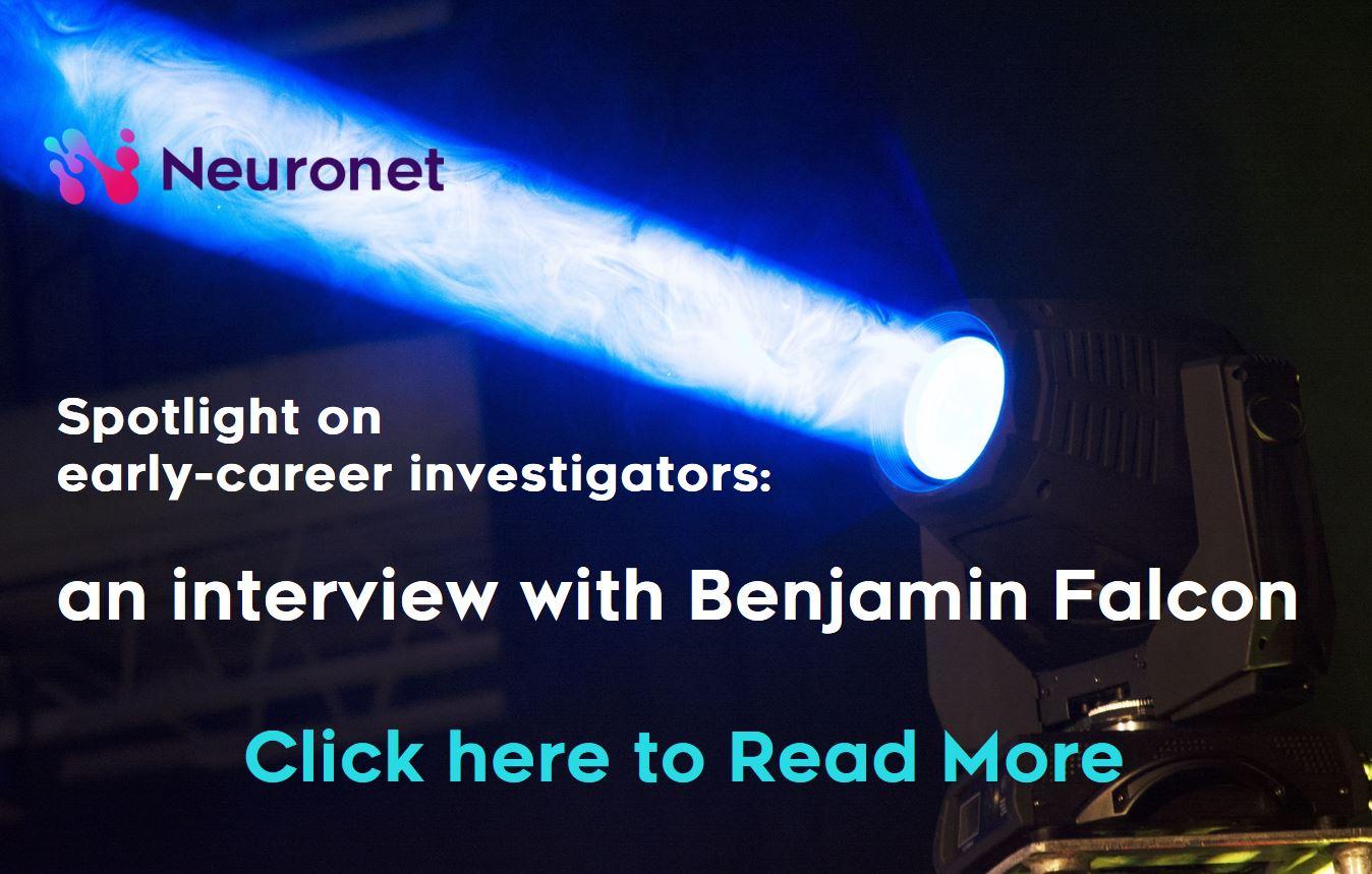 Spotlight on early-career investigators an interview with Benjamin Falcon - IMPRiND MRC Ben
