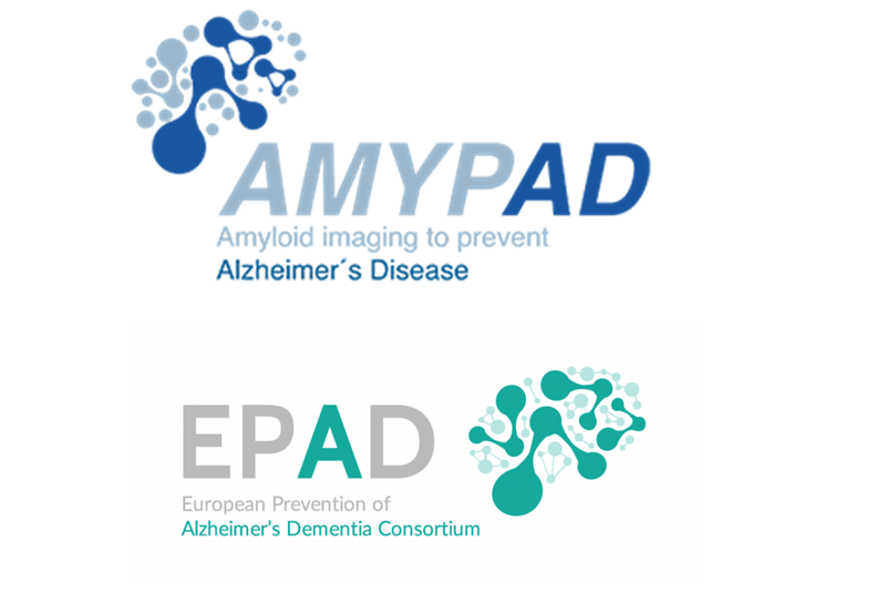 Impact of the COVID-19 pandemic on the AMYPAD and EPAD projects