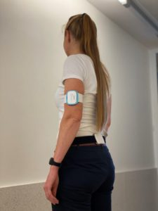 Example of device combination that will be worn by the idea-fast feasibility study participants