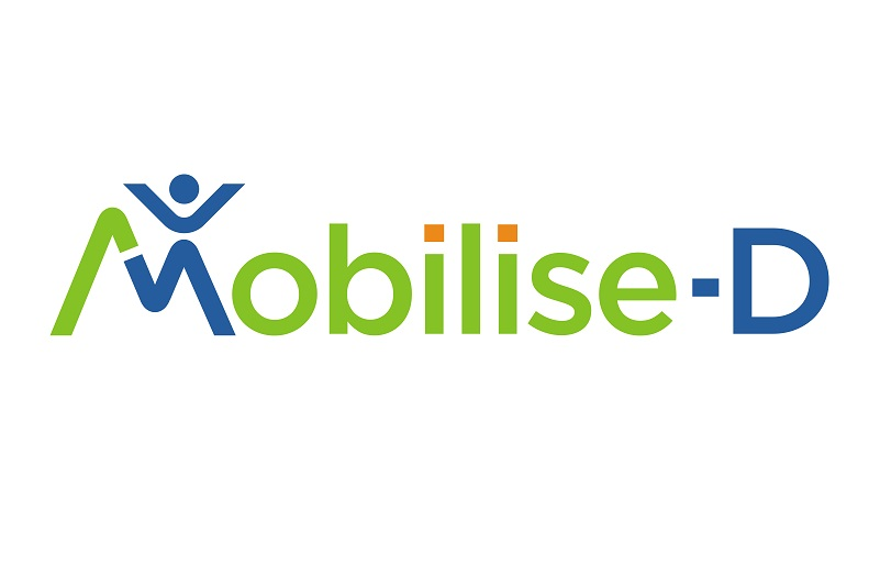 Mobilise-D - Logo Connecting digital mobility assessment to clinical outcomes for regulatory and clinical endorsement