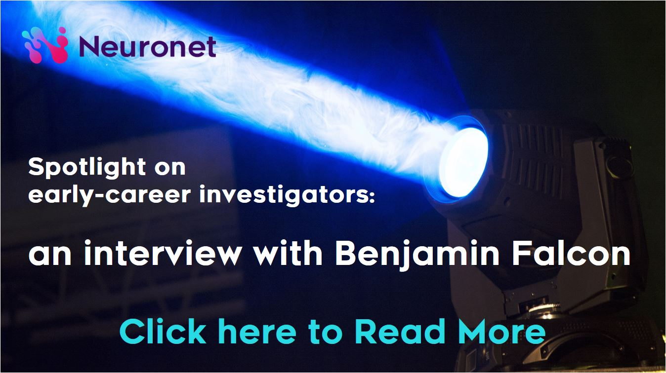 Spotlight on early-career investigators an interview with Benjamin Falcon - IMPRiND MRC Ben