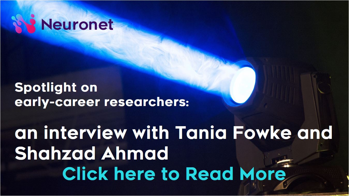 Spotlight on early-career researchers an interview with Tania Fowke and Shahzad Ahmad ADAPTEDJPG