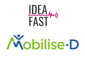 Mobilise-D & IDEA-FAST logos