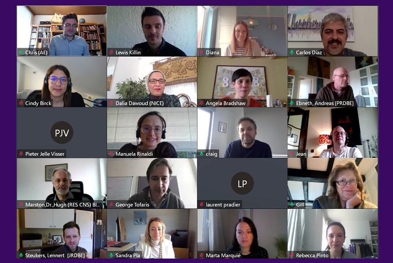 Neuronet Scientific Coordination Board meeting 22032021